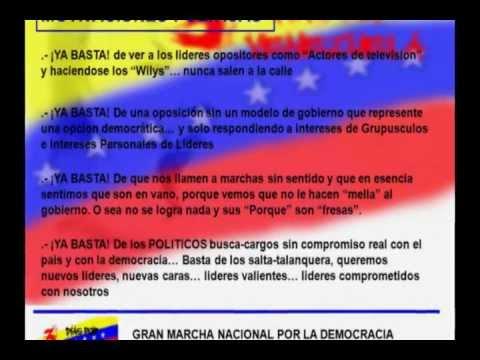 Tres Dias Por Venezuela 2013 - Art.350 - Una Idea de 10 Min