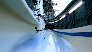 Down The Fastest Bobsled Track in the World POV