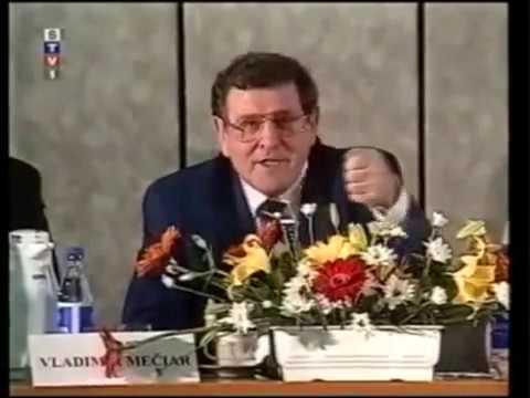 Vladimír Mečiar hovorí vtip (1998)