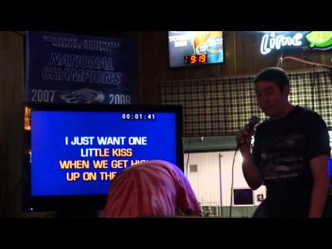 2013 June Karaoke -  Mike Sings Up On the Ridge by Dierks Bently