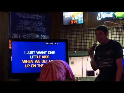 2013 June Karaoke -  Mike Sings Up On the Ridge by Dierks Bently