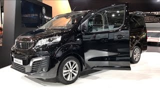 Peugeot Traveller 2016 In detail review walkaround Interior Exterior