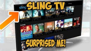 Sling TV Surprised Me...Here's Why