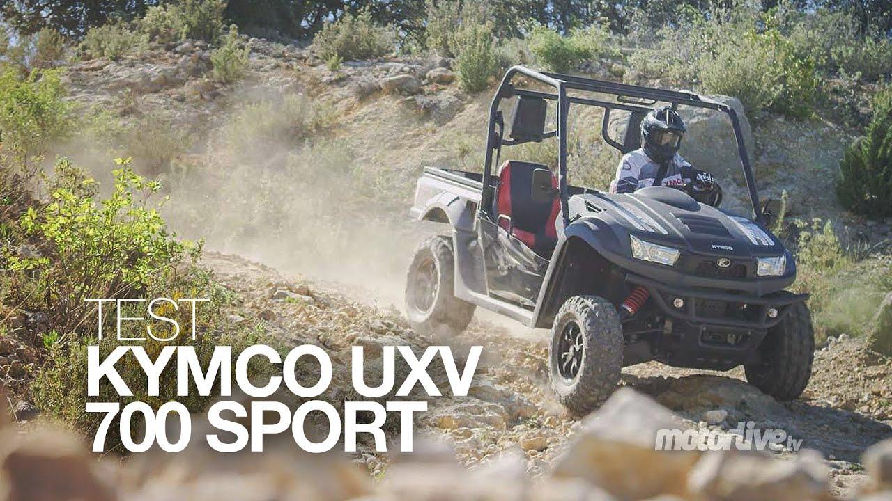 Download TEST | KYMCO UXV 700i Sport, le must du SSV baroudeur !
