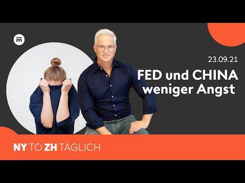 China- und FED-Angst lassen nach  | New York to Zürich Täglich | Swissquote
