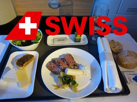 "Swiss 777 Business Class ""Throne Seat"" Zurich to Bangkok"
