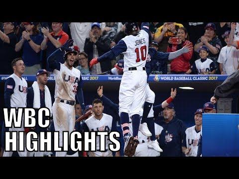 MLB | 2017 Team USA WBC Highlights ᴴᴰ