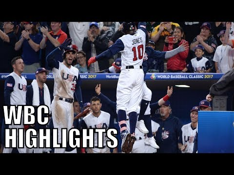 MLB | 2017 Team USA WBC Highlights ᴴᴰ
