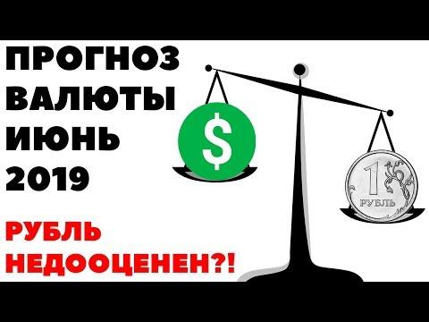 РУБЛЬ НЕДООЦЕНЕН! Прогноз курса валюты на июнь 2019 в России. Какую валюту покупать в июне