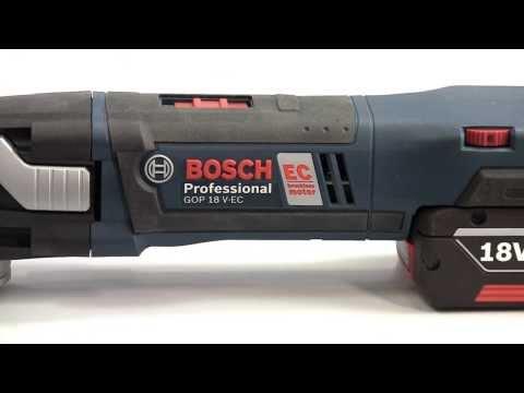 Bosch GOP 18 V-EC Professional Cordless Multi-Cutter