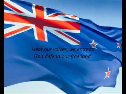 "New Zealand National Anthem - ""God Defend New Zealand / Aotearoa"" (MI/EN)"
