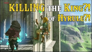 KILLING the KING?! of HYRULE?! Sequel to Leaving the Great Plateau Early in Zelda Breath of the Wild