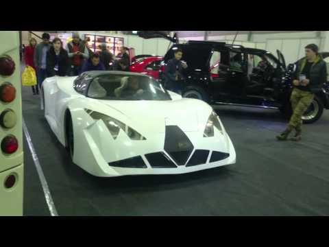 Electric car from Kazakhstan