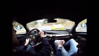 Ferrari LaFerrari Nurburgring Slow but with Powerslides