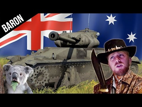 Happy ANZAC DAY, Mate!  (War Thunder Australian and Kiwi Tanks & Planes Gameplay!