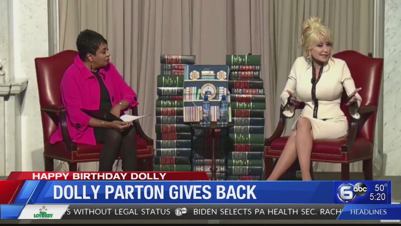 A look at Dolly Parton's gifts to others on her 75th birthday