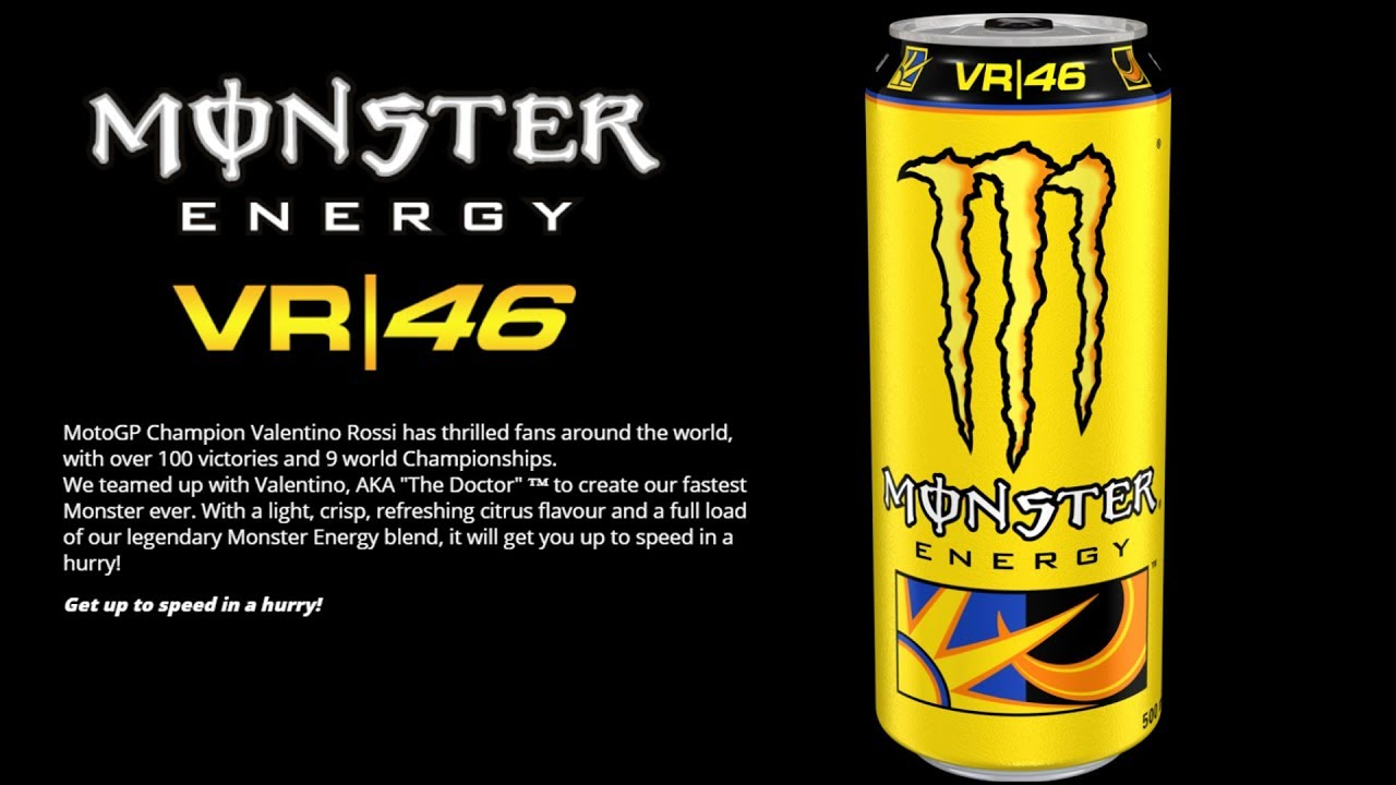 monster energy vr46 energy