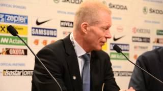 Pressekonferanse etter Norge - Slovenia 04.05.2013