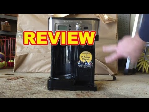 Review Hamilton Beach FlexBrew Coffee  Maker Coffee Machine Easy To Clean 2019