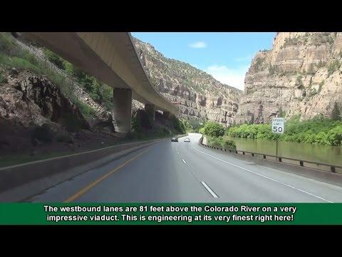 2K14 (EP 6) Interstate 70 in Colorado: Glenwood Canyon