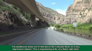 2K14 (EP 6) Interstate 70 in Colorado: Glenwood Canyon