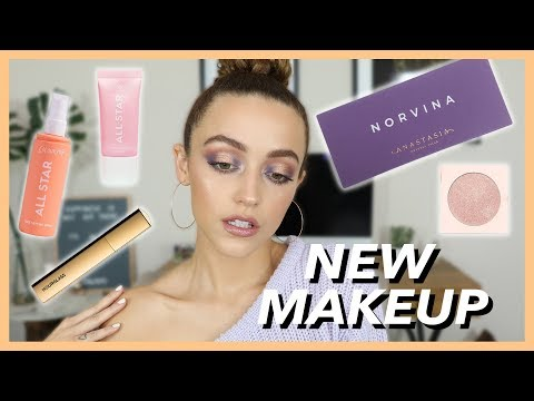 ANASTASIA NORVINA PALETTE + A FEW FIRST IMPRESSIONS | GRWM