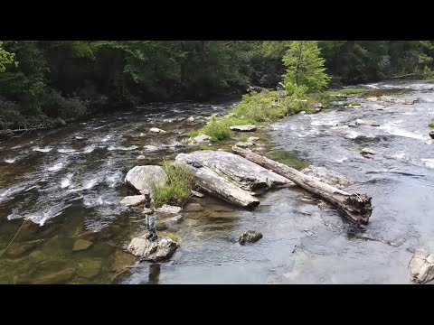 Spring Time Chattooga River Trout Fishing