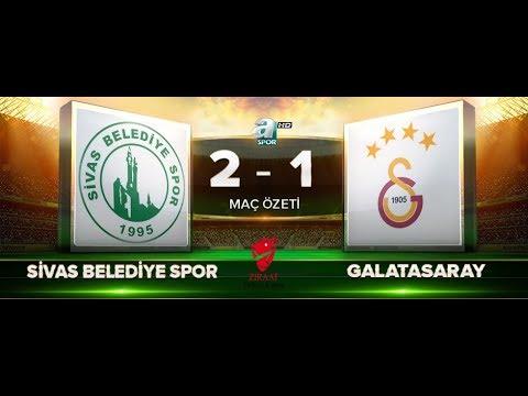 Sivas Belediyespor 2-1 Galatasaray | ZTK 5.Tur rövanş | A Spor HD | 12.12.2017