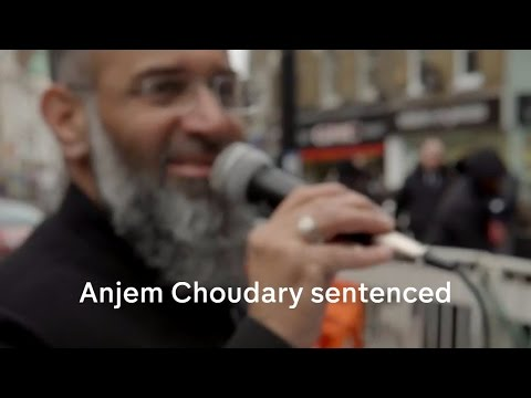 Anjem Choudary jailed for inciting support for Islamic State