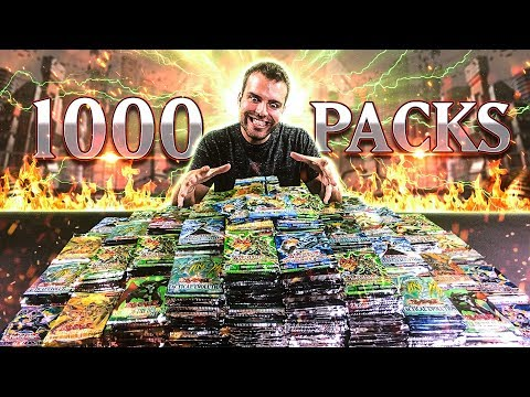 Unboxing a MASSIVE YuGiOh 1000 Pack Opening Collection! OH BABY!!