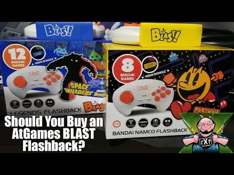 Should You Buy The AtGames Blast Pac Man And Legends Plug & Play Dongles