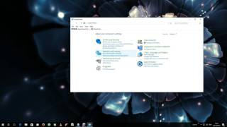 How to open the old style control panel in Windows 10