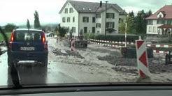Unwetter in Rüti am 27.7.2011