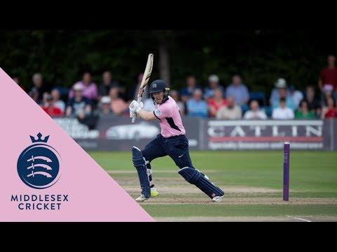 Somerset v Middlesex - NatWest T20 Blast match action (23July2017)
