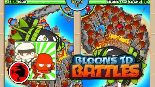 BTD Battles - Robot wrecking NK staff