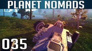 PLANET NOMADS [035] [Ein steiniger Weg nach Hause] [S01] Let's Play Gameplay Deutsch German thumbnail
