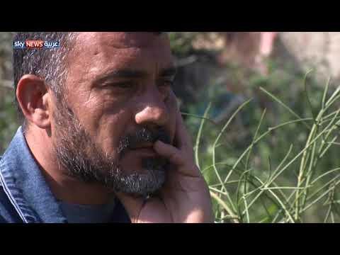 سوريون بانتظار أخبار عن أقاربهم بالغوطة  - نشر قبل 9 ساعة