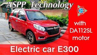 Elektroauto P6 Plus-E300 mit DA112SL-Motor ! Zertifikat L7e-CU