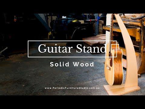 Making Designer Guitar Stands