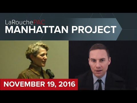 Manhattan Town Hall event with Michael Steger and Diane Sare