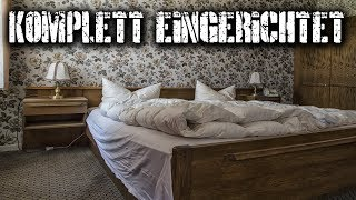 LOST PLACES | KEIN VANDALISMUS | KOMPLETT EINGERICHTETES HOTEL