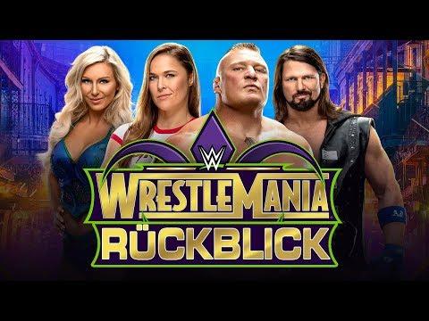 WWE WrestleMania 34 RÜCKBLICK / REVIEW