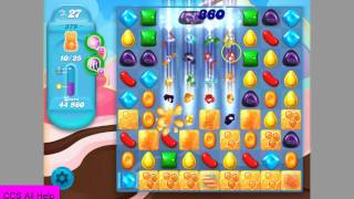 Candy Crush SODA SAGA level 379 No Boosters