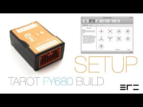 Tarot FY680 Build - Setup - ERC