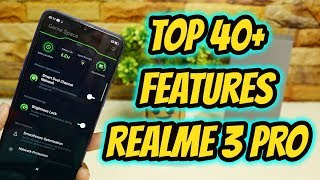 Realme 3 Pro Top 40+ Hidden Features , Advance Features , Best Features ! Tips & Tricks !! HINDI