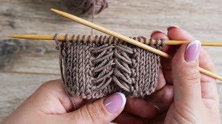 Отделочный узор спицами | Border knitting pattern