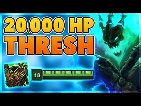 *20,354 HP* NEW UNKILLABLE THRESH BUILD (NEW RECORD) - BunnyFuFuu