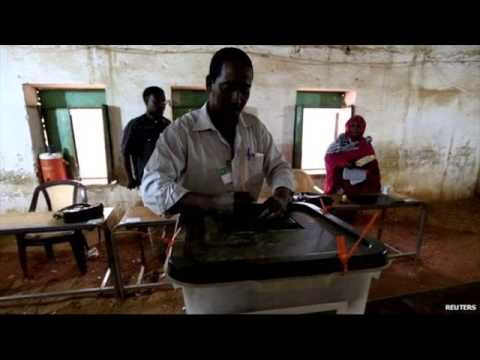 Sudan elections: Polls close after low turn out