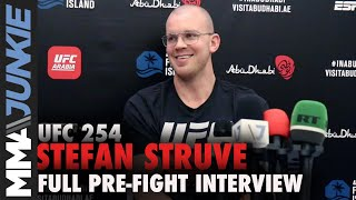Stefan Struve: Tai Tuivasa 'isn't Touching Me' In Fight | UFC 254 Pre-fight Interview