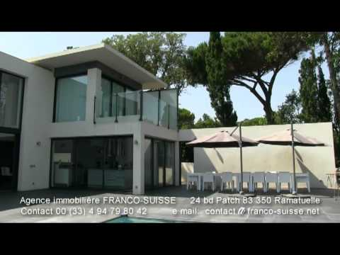 A vendre villa pampelonne prestige style californienne for Maison style californienne